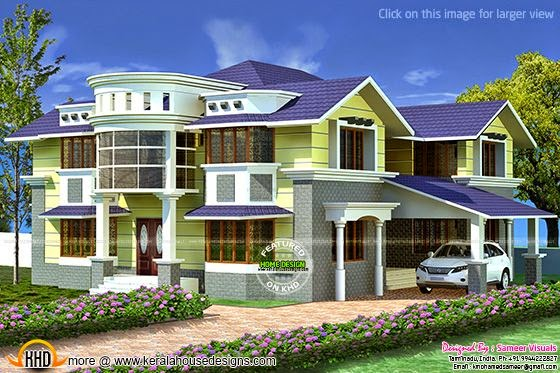 3710 sq-ft Tamilnadu house