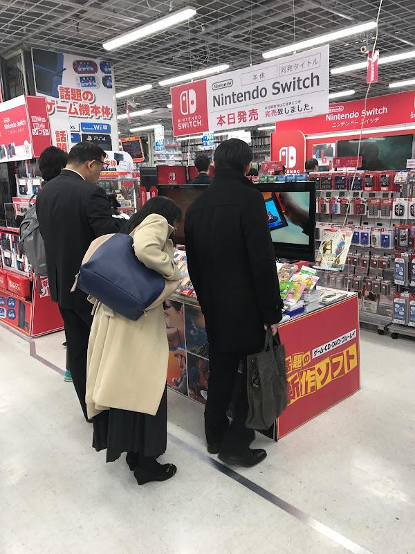 「騎士団長殺し」と「Nintendo Switch」| 2017-03-03 の日々雑感