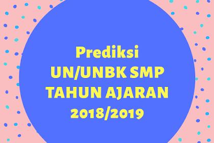 Prediksi Soal UN SMP 2019