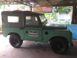 Jeep Inggris , Land Rover Seri 2 No Paper 1965