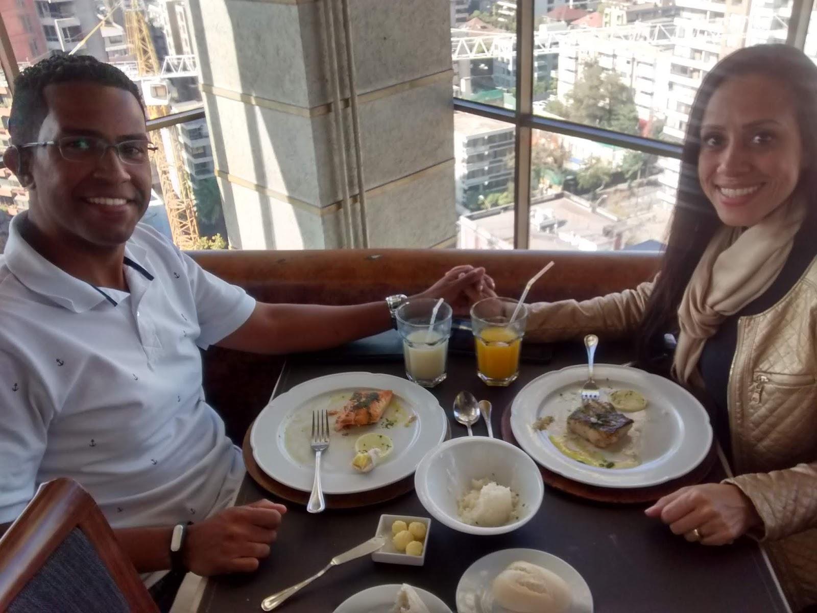 Almoço Restaurante Giratorio