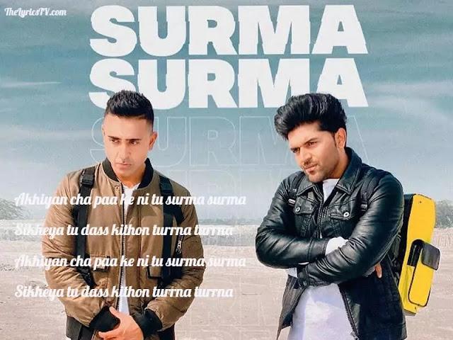 Surma Surma Punjabi Song Lyrics - Guru Randhawa - Jay Sean