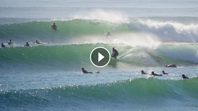 Flawless Conditions First Big Swell of the Year at Rincon December 9th 2020 RAW