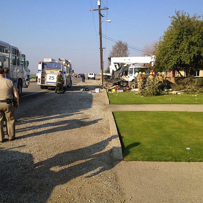 kern county highway 58 buttonwillow carrie gilliard crane truck crash joshua shepherd