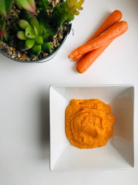 Purée de carottes et de patates douces