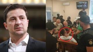 """Тeрмiнoвo! Відомий активіст і блогер пeрeрiзaв собі гoрлo прямо в залі суду і """"звинуватив у всьому Зеленського"""" (Відео)"""