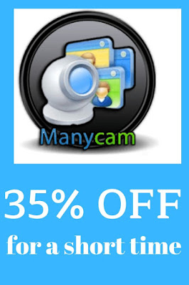 ManyCam Coupons discounts. Redeem ManyCam Discounts, Coupons, Rabatt, Gutschein & Deals! ManyCam 35% Discount Code. Working ManyCam Coupon Codes. Verified Coupons. Big Discounts. Daily Deals. Special Offers.