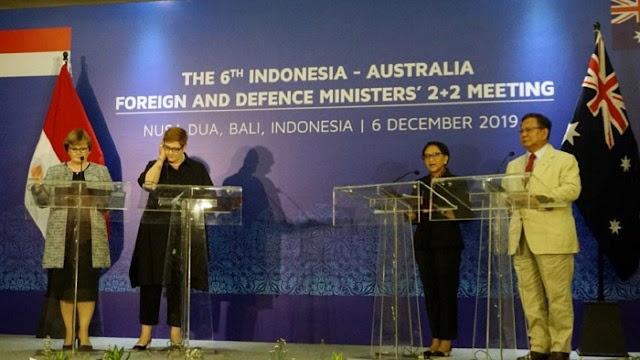 Bertemu Menhan Australia, Prabowo Subianto: Kita Boleh Memilih Kawan, Tapi Tidak Bisa Memilih Tetangga