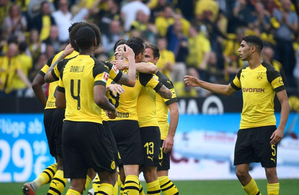 نتيجة مباراة بوروسيا دورتموند وأوجسبورج اليوم السبت بتاريخ 17-08-2019 الدوري الالماني