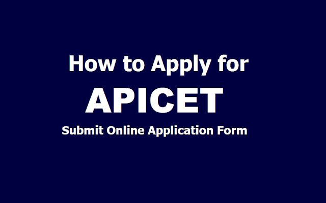 How to Apply for APICET 2019, Submit AP ICET Online Application form till March 27