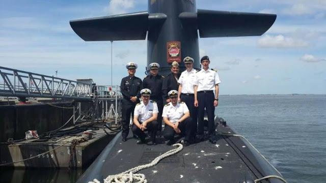 Curso de Comando Submarino Alemán 2014, a bordo del submarino Clase Walrus de la Dutch Submarine Force
