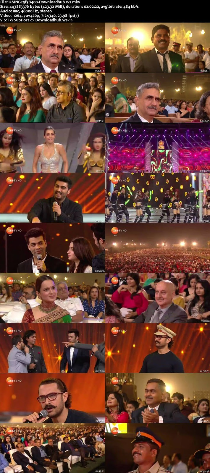 Umang Police Event 25th February 2018 480p HDTV