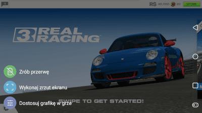 Wykonaj zrzut ekranu w grze
