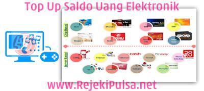 RejekiPulsa.Net Agen Top Up Saldo Uang Elektronik/Digital Termurah