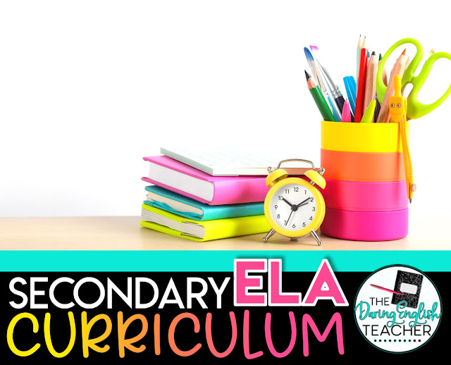 Secondary ELA Curriculum and Pacing Guide