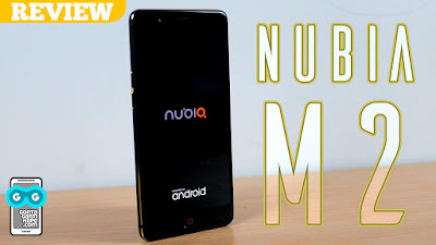 review smartphone Nubia M2 Indonesia