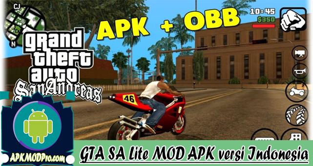 GTA SA Lite FULL MOD APK versi Indonesia | Terbaru 2020