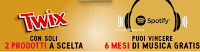 Logo Gioca e vinci 90 premi Spotify per 6 mesi