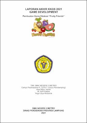Cover Laporan Tugas Akhir KKGS KKSI Tahun 2021