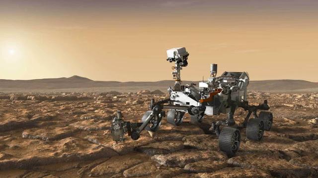 Nasa apresenta algumas das tecnologias da missão Mars 2020
