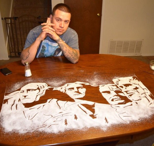 18-Mount-Rushmore-Rob-Ferrel-Rob-the-Original-Drawing-Portraits-with-Salt-www-designstack-co