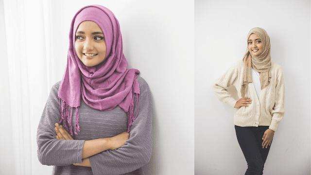 3 Inspirasi Model Hijab Pashmina untuk ke Pesta