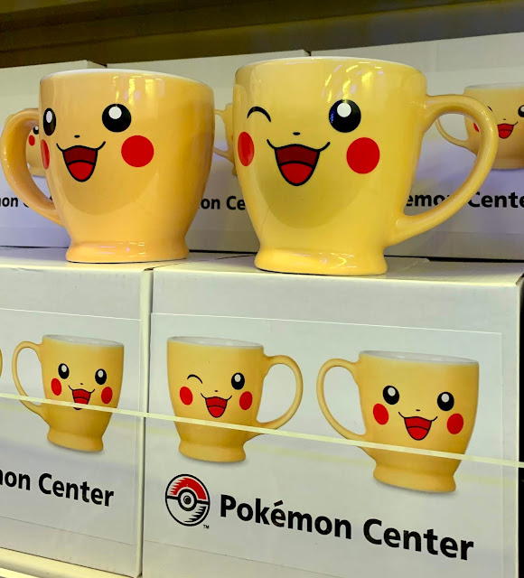 Pikachu two-sided picture mug from Pokemon Centre, London
