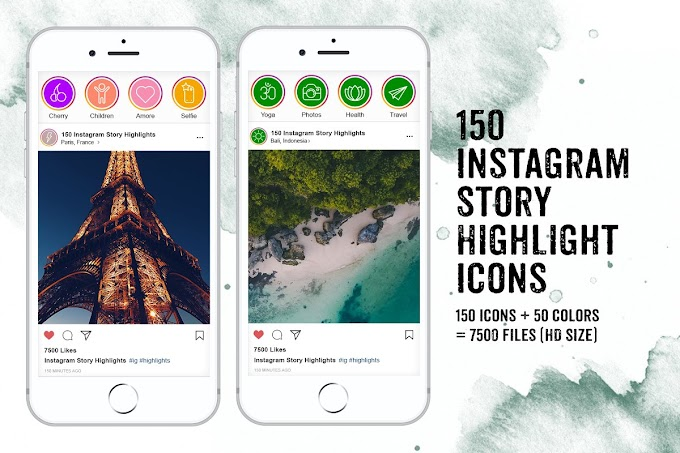 Be Different and Classy Social Influencer With This IG Stories Highlight Icons