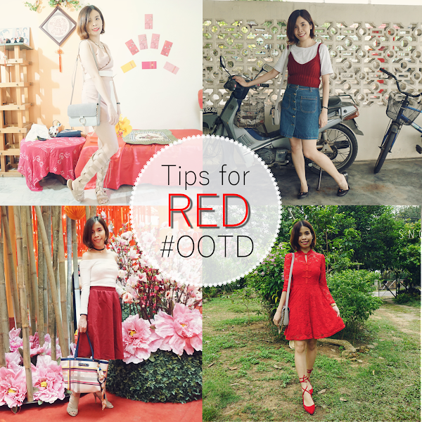 [Fashion] Chinese New Year Outfit #11 - Tips for RED OOTD