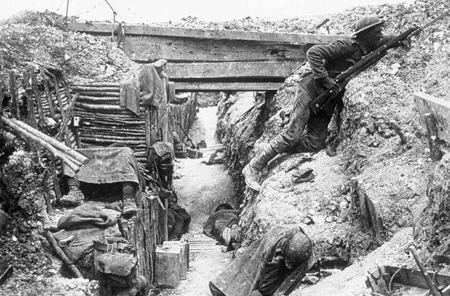 Fotografías de la batalla del Somme, Francia - 1916