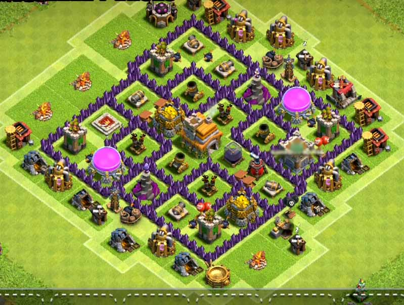 best town hall 7 farming base