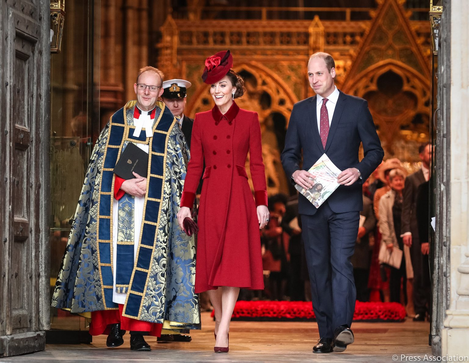 The Duke and Duchess of Cambridge, Prince William and Catherine, have spoken to the medical, charity and voluntary staff from across the commonwealth