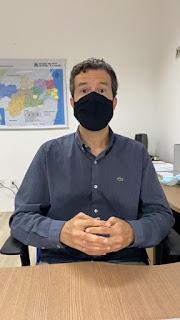 Secretário executivo da saúde na Paraíba Daniel Beltrammi, falo do um ano do primeiro caso de COVID no Estado