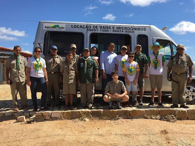 Aderson Leão Viagens e Turismo realiza viagem com grupo de escoteiros
