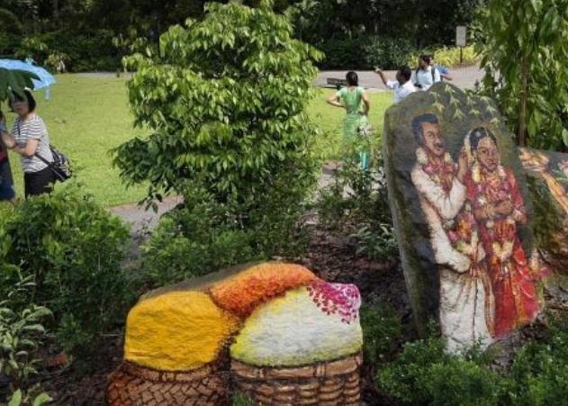 Atraksi $ 5,8 juta dibuka di Singapore Botanic Gardens