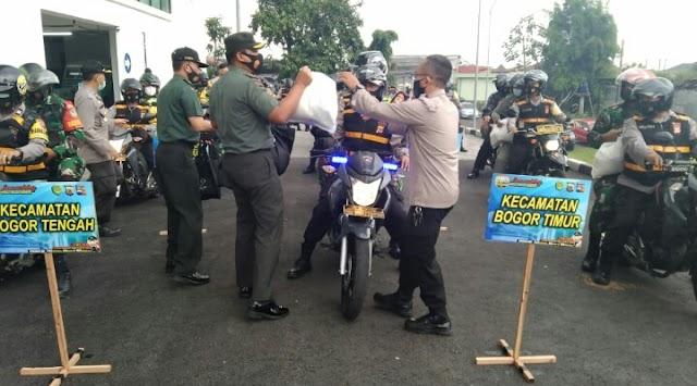 Danrem 061/Sk  Apresiasi Forkopimda Kota Bogor Untuk Launching Peduli Isolasi Mandiri