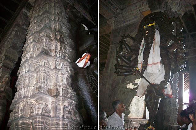 Avudaiyarkoil Aathmathaswamy Temple Aayiramkal Thoon