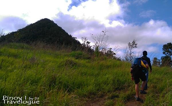 Grassy trail at Mt. Daraitan