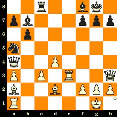 Les Blancs jouent et matent en 3 coups - Dragan Vasiljevic vs Nenad Jovanovic, Belgrade, 1984