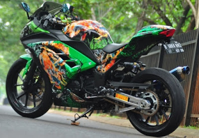 Modifikasi Kawasaki Ninja 300
