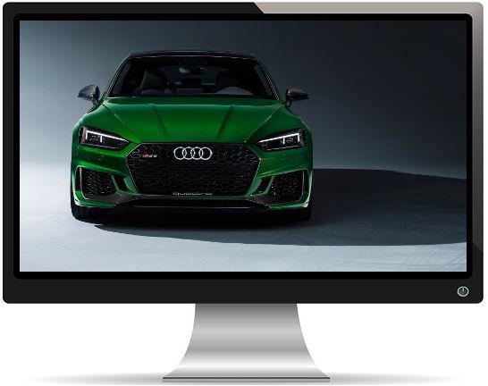 Audi RS 5 Sportback Face - Fond d'Écran en Full HD