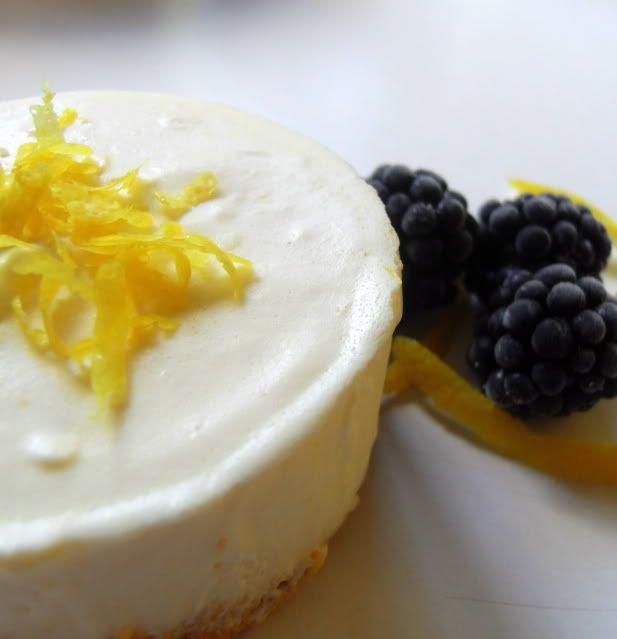 Frozen Lemon Souffle