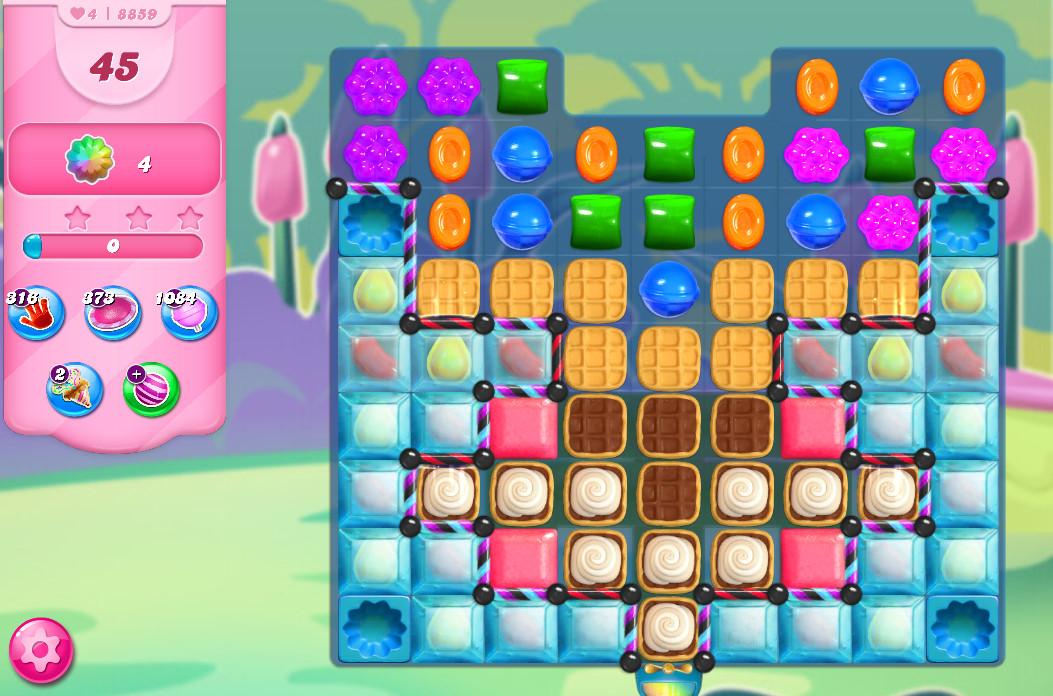 Candy Crush Saga level 8859