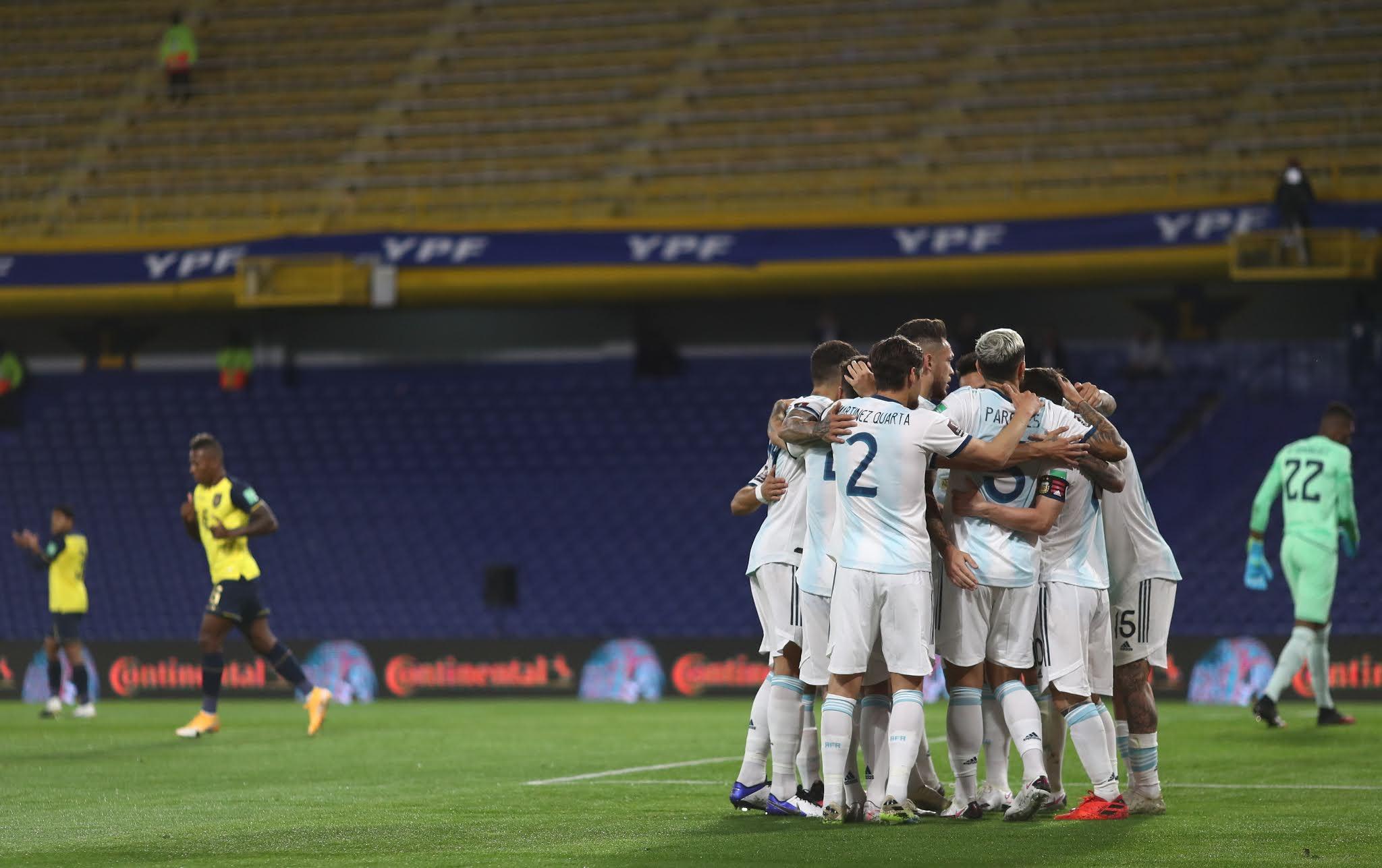 Argentina Ecuador eliminatorias sudamericanas