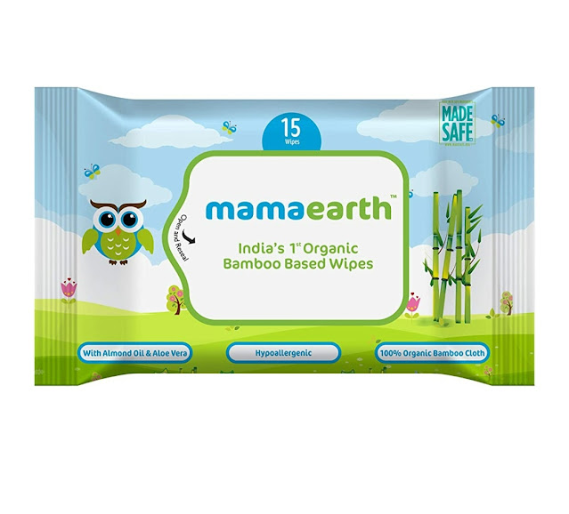 Mamaearth Bamboo wipes