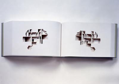 Obra de arte con corte de papel artístico