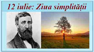 12 iulie: Ziua simplității