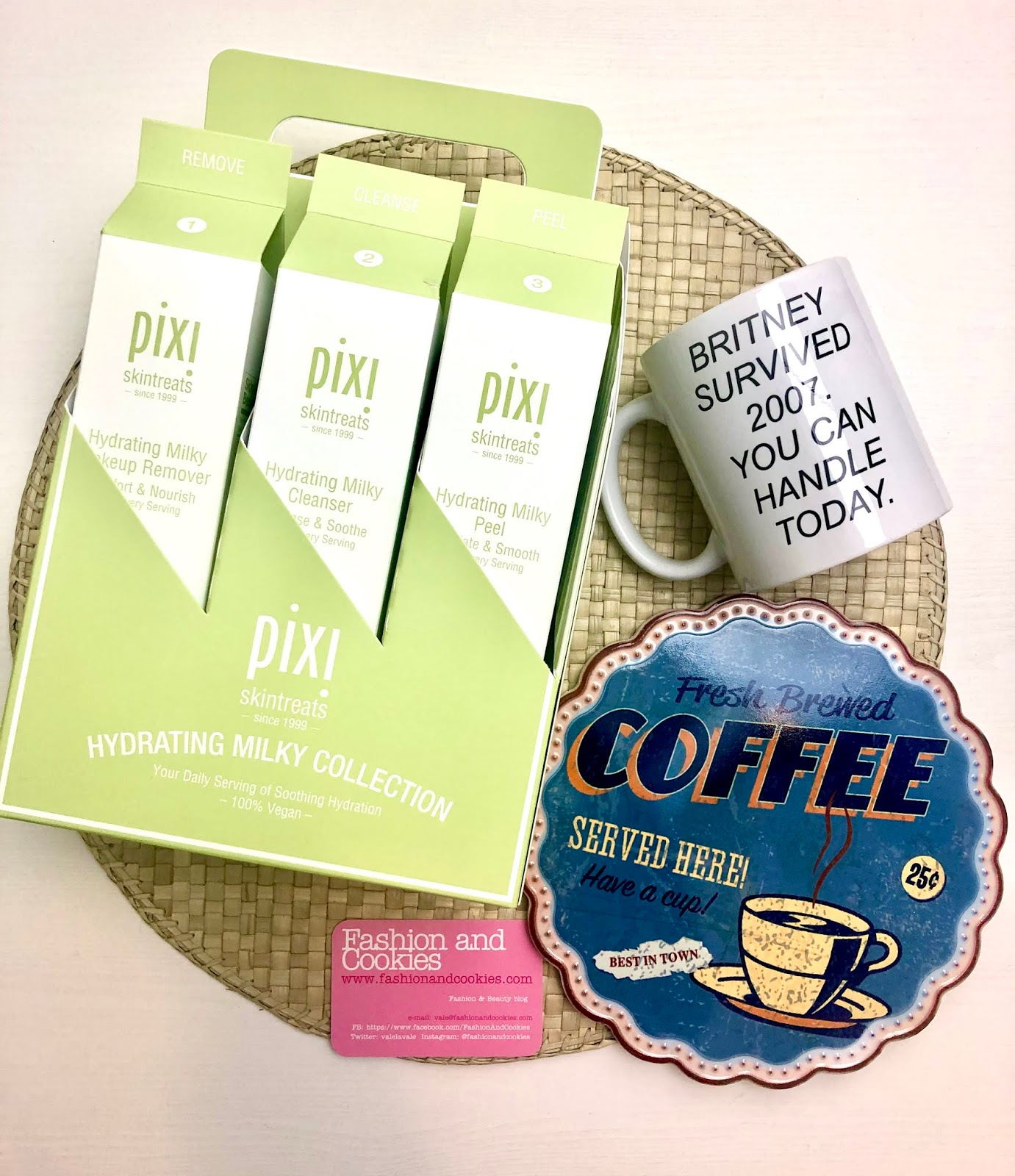 Pixi Beauty Hydrating Milky Collection on Fashion and Cookies beauty blog