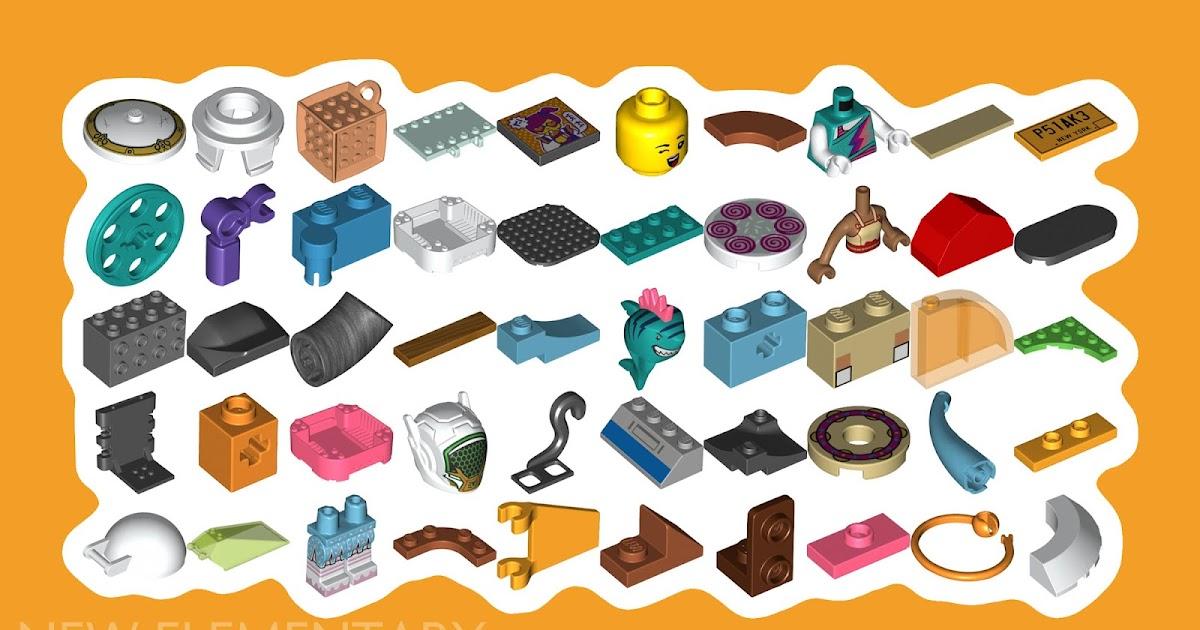 2x Brick Brick 1x2x5 Beige//Tan 2454 New Lego