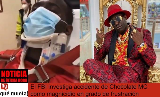 Investigan como atentado accidente de Chocolate MC